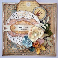 Prima card by Janine Koczwara using Songbird collection