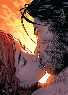 Wolverine and Jean Grey by Steve McNiven