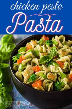Chicken Pesto Pasta is a dinner that is ready in just 22 minutes.