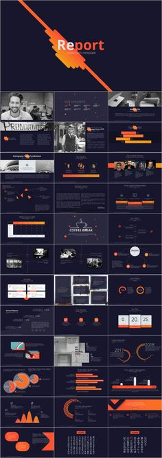 black background report PowerPoint template – The highest quality PowerPoint T. Professional Powerpoint Templates, Creative Powerpoint Templates, Powerpoint Presentation Templates, Keynote Template, Report Template, Powerpoint Background Templates, Powerpoint Themes, Dark Backgrounds, Presentation Design