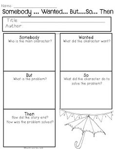 Fourth and Ten: Spring Graphic Organizers Set Two {Try it Before You Buy It}