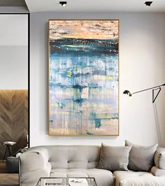 Abstract Landscape Painting,Original and Oversize Painting