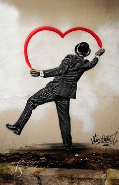 Mural art in Paris, near Rue Oberkampf by Dan & Luiza from TravelPlusStyle.com, via Flickr