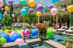 David Tutera's CELEBrations! 1st birthday! Balloon Decor by Top Hat Balloon Werks www.tophatballoonwerks.com (949) 370-1355