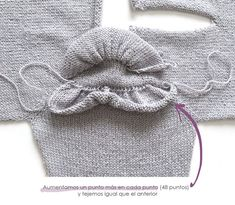 Ruffles Baby Sweater – Knitting Pattern & Tutorial Best Picture For Knitting art For Your Taste You are looking for something, and it is going. Baby Sweater Knitting Pattern, Baby Sweater Patterns, Knitting Machine Patterns, Knit Baby Sweaters, Girls Sweaters, Knit Patterns, Baby Knits, Knitting Blogs, Knitting Designs