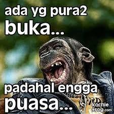 Gambar Meme DP BBM Pura Pura Puasa Lucu ngakak 2017 2018 2019 2020 2021 202 2022 2024 2025