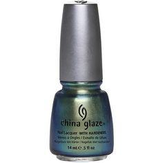 China Glaze New Bohemian ❤ liked on Polyvore