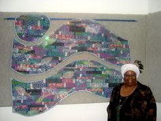 """""""Swimming With the Fishes"""" quilt"""