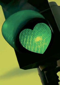 Green heart light
