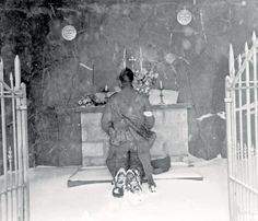 The little Chapel in Houmont, january 1945