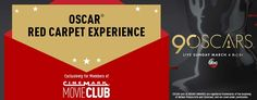Enter for a chance to win an Oscar® Red Carpet Experience! https://www.cinemark.com/redcarpet