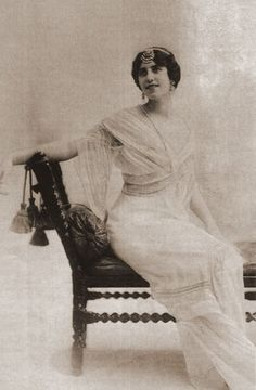 Anita Delgado. Circa 1908 BodaEstilo » Vestidos de novia. Sari indio