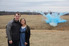 Wow! We are so happy to learn that our firstborn is a boy! Our minds are already racing toward all the future memories to be made with this little guy! Most of all, we are already asking God to bless him and help us grow him into a loving and faithful follower of Christ! - Joe and Kendra Visit the link in my bio to watch their gender reveal party!!! | #DuggarFamily