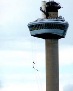 Abseiling from the Euromast in Rotterdam!