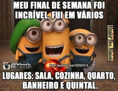 Humor Minion, Minions Quotes, Funny Quotes, Funny Memes, Good Jokes, The Funny, Haha, Funny Pictures, Messages