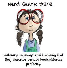 Girls Who Read... Lol so true especially after reading My Name is Memory! Too cute