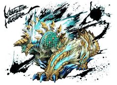 Monster Hunter Fanart - Zinogre