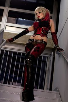Harley Quinn Cosplay High Fashion in Gotham by burnsizzlemelt on deviantART