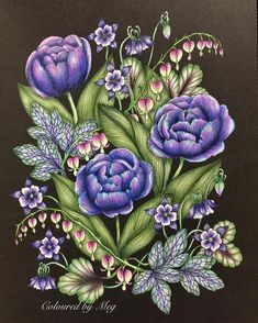Is this one of your favourite colour combo too? Love doing this gorgeous #blomstermandala Tavelbok by #mariatrolle used #fabercastellpolychromos #prismacolorpremier #colouringbook #adultcoloringbook #artecomoterapia #arte_e_colorir #blomstermandalamålarbok