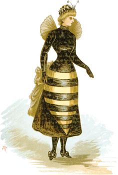 A Halloween Historical Look at Masquerades, Costume Balls and Fancy Dress Victorian Fancy Dress, Victorian Era, Victorian Fashion, Vintage Fashion, Fancy Dress Photos, Fancy Dress Ball, Vintage Bee, Vintage Witch, Vintage Halloween