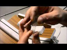 Cortabotellas Cortes perfectos maquina Argollas de vidrio Reciclaje - YouTube