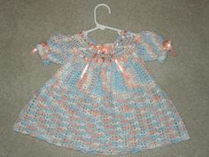 A beautiful, handmade, crochet baby dress is today's item of the day. This dress will be perfect if you're looking for something special for a special little girl! The seller is willing to ship throughout Florida, so anyone will be able to take advantage of this great buy!