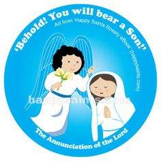 Mary said Yes to God at the Annunciation!