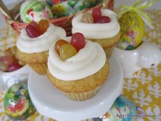 Nut and dairy free easter ideas food allergy diets pinterest dairy egg soy and peanuttree nut free mini vanilla cupcakes for easter negle Image collections