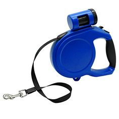 Fundodo 5M 8M Retractable Dog Leash Automatic Extending Pet Walking Leads With Waste Poop Bag For Small Medium Large Dogs