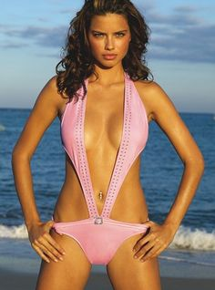 Victoria's Secret - Adriana Lima - 2005SS - swimwear -  fashion ads