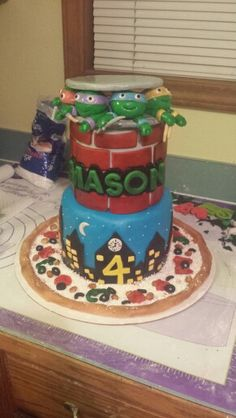 Birthday cake April 2015