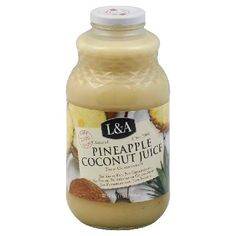 LandA Coconut Pineapple Juice, 32-Ounce (Pack of 6) -- Remarkable discounts available  : Baking Desserts recipes