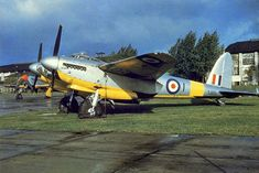Haven't seen of these before. 34 great colour images of warbirds! Navy Aircraft, Ww2 Aircraft, Military Jets, Military Aircraft, De Havilland Mosquito, Ww2 Planes, Royal Air Force, World War Two, Techno