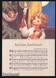"""Rudolf Koivu, """"Sylvian Joululaulu"""" -joulukortti - 2 € - Joulukortit - Postikortit - Keräily - Huuto.net - (avoin)"""