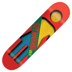 "Board Girl Skateboards Half and Half Pretty Sweet Guy Mariano deck 8.12"" 70€ #girlskateboard #girlskate #deck #skate #skateboard #skateshop #prettysweet"