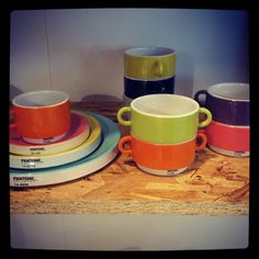Pantone for kitchen, I want it!!