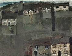 Hannah Hann Derelict Crofts (via Josie Eastwood Fine Art) Derelict Buildings, Illustration Art, Art Illustrations, Naive Art, Modern Landscaping, 2d Art, Built Environment, Contemporary Paintings, Artist At Work