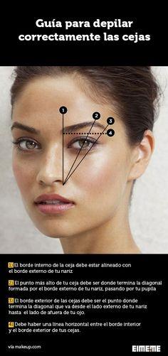 Guía definitiva para que depiles tus cejas correctamente