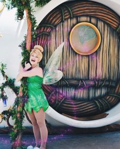 Tinker Bell peter pan Disney Cosplay, Disney Costumes, Disney Outfits, Disney Live, Disney Girls, Disney Magic, Walt Disney Parks, Disney College, Walt Disney Pictures Movies
