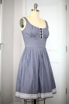 Made my own ModCloth dress / Create / Enjoy
