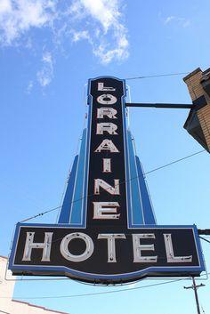 Lorraine Hotel Neon Sign   Flickr - Photo Sharing!