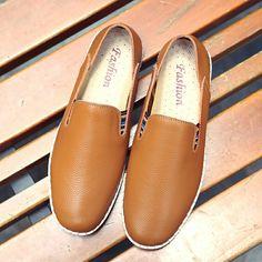 >> comprar aqui << Prelesty Tamaño Grande 38-47 Genuinos Hombres de Cuero Zapatos Casuales Zapatos Transpirables de Conducción Suave Más El Tamaño de Los Hombres Hechos A Mano Chaussure Homme
