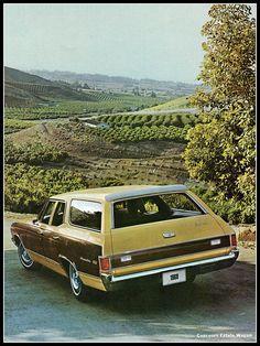 1969 Chevrolet Malibu Concours Estate Station Wagon
