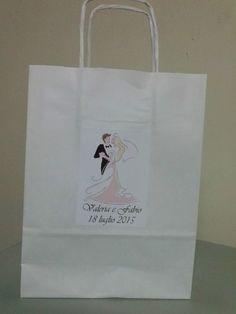 WEDDING BAGS PERSONALIZZATE, VISITA IL NOSTRO NEGOZIO ONLINE http://stores.shop.ebay.it/ARES-di-Fortunato-Giuseppe