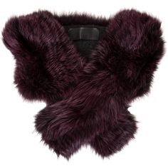 Pre-owned Brandon Sun Fox Fur Stole ($625) ❤ liked on Polyvore featuring accessories, scarves, purple, purple scarves, fox fur shawl, fox fur stole, fox fur scarves and purple shawl