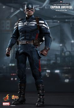 Hot Toys : Captain America: The Winter Soldier - Captain America (Stealth S.T.R.I.K.E. Suit) Collectible Figure 1/6th scale Collectible Figure