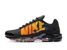 detailed look 14770 aa297 Sneaker Nike Air Max Plus TN SE Chaussures Nike Running Pas Cher Pour Homme  Noir Orange