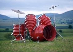 Custom Drum Kits | RODNEY MATTHEWS CUSTOM DRUM KIT RED BIG Photo by WARRRIORRR ...