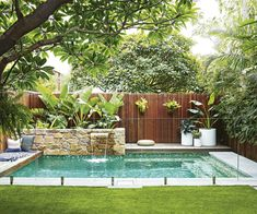 Here are the Small Pool Design Ideas For Backyard. This article about Small Pool Design Ideas For Backyard was posted … Pools For Small Yards, Small Swimming Pools, Swimming Pools Backyard, Swimming Pool Designs, Lap Pools, Indoor Pools, Pool Decks, Backyard Pool Landscaping, Backyard Pool Designs