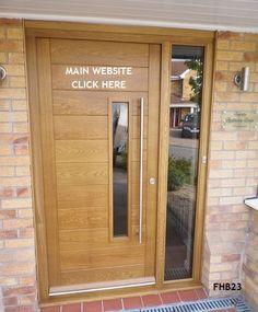 contemporary door, contemporary doors oak, modern front doors, modern entrance d. Modern Entrance Door, Modern Exterior Doors, Modern Front Door, Front Door Entrance, House Front Door, Entry Doors, Modern Entryway, Architecture Bauhaus, Le Corbusier Architecture